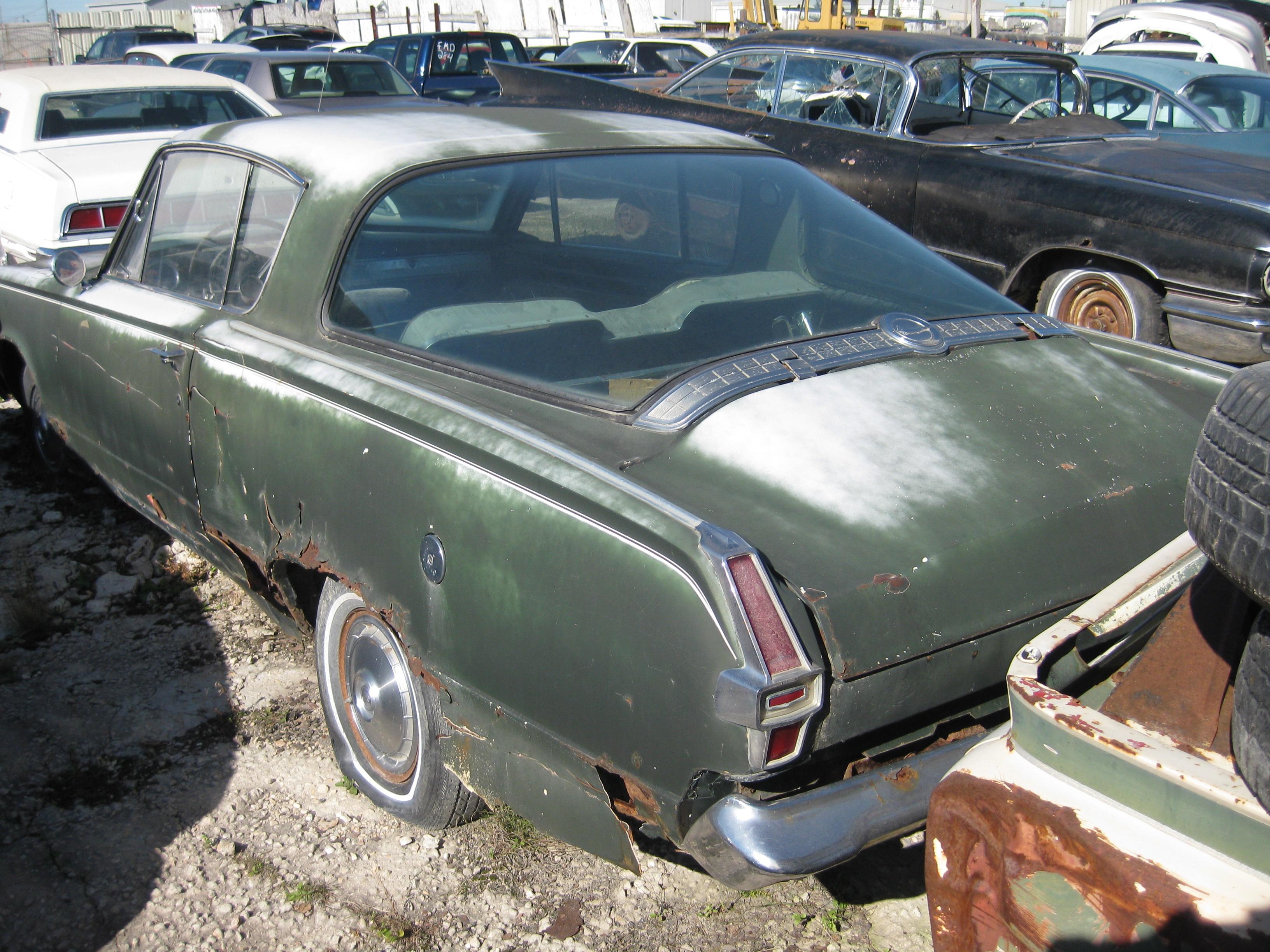 Sell Complete for Restoration: 1966 Barracuda 2 Dr H/T-Slant 6 Motor